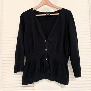 Torrid plus 3 black cardigan